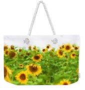 Sultry Sunflowers Weekender Tote Bag