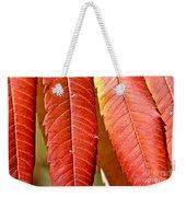 Sumac Leaves Weekender Tote Bag