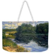 Summer At Jackson Lake Weekender Tote Bag