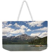 Summer At Pyramid Lake Weekender Tote Bag