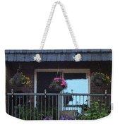 Summer Balcony Weekender Tote Bag