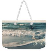 Summer Beach Weekender Tote Bag
