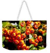 Summer Berries Weekender Tote Bag