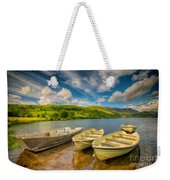 Summer Boating Weekender Tote Bag