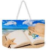 Summer Book Weekender Tote Bag