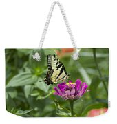 Summer Butterfly Weekender Tote Bag
