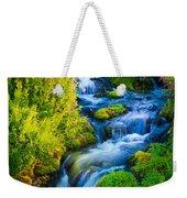 Summer Cascade Weekender Tote Bag