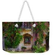 Summer Cottage Weekender Tote Bag