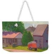Summer Cottages Maine Weekender Tote Bag