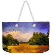 Summer Country Landscape Weekender Tote Bag