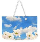 Summer Daisies Weekender Tote Bag by Amanda Elwell