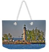 Summer Day View Of The Lighthouse  Weekender Tote Bag