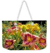 Summer Daylilies Weekender Tote Bag