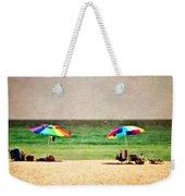 Summer Days At The Beach Weekender Tote Bag