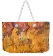 Summer Deer Weekender Tote Bag