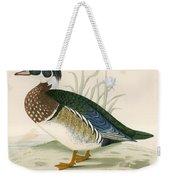 Summer Duck Weekender Tote Bag