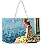 Summer Eve Weekender Tote Bag