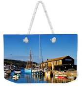 Summer Evening At The Harbour Weekender Tote Bag