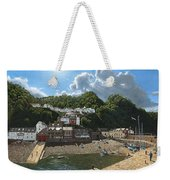Summer Evening Clovelly North Devon Weekender Tote Bag