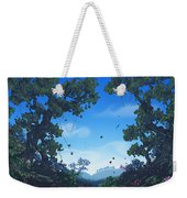 Summer Fields Weekender Tote Bag by Cassiopeia Art