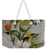 Summer Floral Weekender Tote Bag
