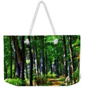 Summer Forest In Ohio Weekender Tote Bag