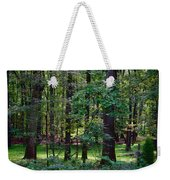 Summer Forest Weekender Tote Bag
