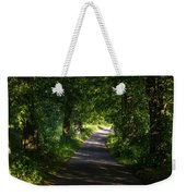 Summer Forest Road Weekender Tote Bag