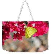 Summer Garden II In Watercolor Weekender Tote Bag