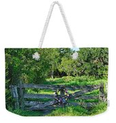Summer Gate Weekender Tote Bag