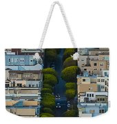 Summer Green On Lombard Street Weekender Tote Bag