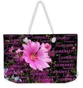 Summer Greetings Weekender Tote Bag