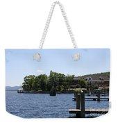 Summer Impression Lake Winnipesaukee Weekender Tote Bag