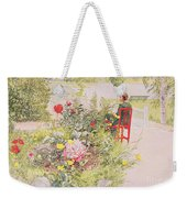 Summer In Sundborn Weekender Tote Bag by Carl Larsson