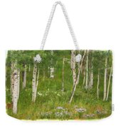 Summer In The Colorado Mountains Weekender Tote Bag