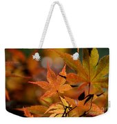 Summer Japanese Maple - 3 Weekender Tote Bag