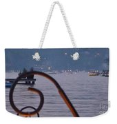 Summer Lake Twinkles Weekender Tote Bag