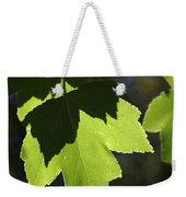 Summer Maple Leaves Weekender Tote Bag