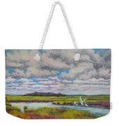 Summer Marsh Weekender Tote Bag