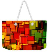 Summer Modern Abstract Art Xviii Weekender Tote Bag by Lourry Legarde