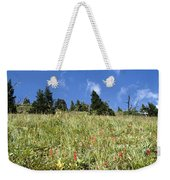 Summer Mountain Landscape Weekender Tote Bag