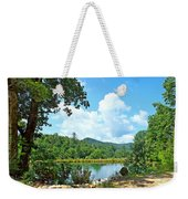 Summer Mountain Pond 2 Weekender Tote Bag
