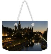 Urban Summer Night.. Weekender Tote Bag