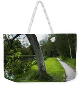 Summer Path Weekender Tote Bag