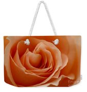 Summer Peach Weekender Tote Bag