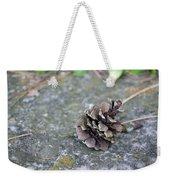 Summer Pinecone Weekender Tote Bag