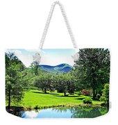 Summer Pond And The Blueridge Weekender Tote Bag