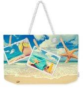 Summer Postcards Weekender Tote Bag