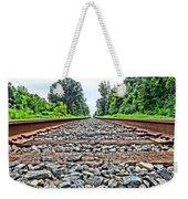 Summer Railroad Tracks Weekender Tote Bag