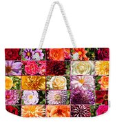 Summer Roses And Dahlias 2013 Weekender Tote Bag